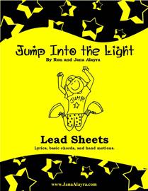 Shop : Jump into the Light PDF Lead Sheets